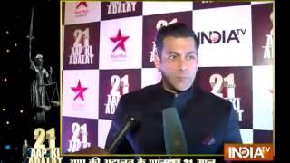 Live: Salman khan share his feelings on completing 21 Yrs of Aap Ki Adalat
