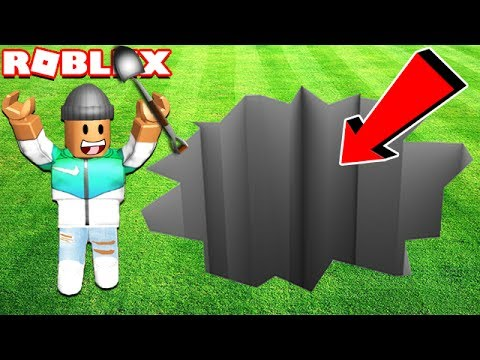 DIGGING A 1,000,000 FOOT HOLE IN ROBLOX