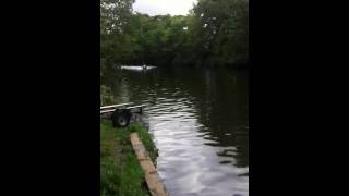 YAMAHA Marine Jet 500t on river aire