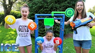ICE BUCKET DUNK SPLASH TANK CHALLENGE!! Toys AndMe