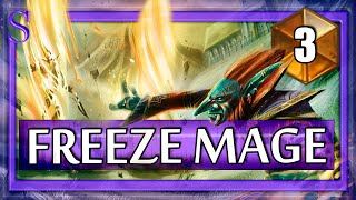Hearthstone Freeze Mage - Fatigue battles!  The end for now #3