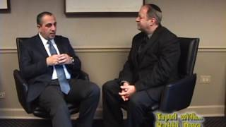 Avner Avraham - former Mosad Agent on TAPED WITH RABBI DOUG