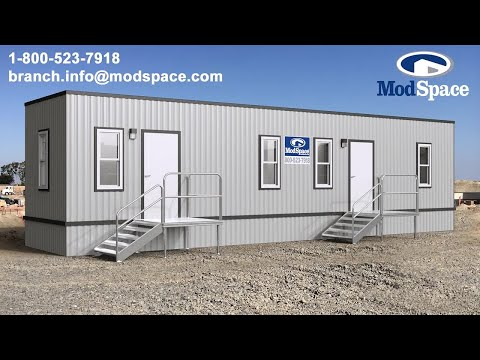 Maximize Productivity with Furniture, Steps, Ramps and More for your Office Trailer   ModSpace