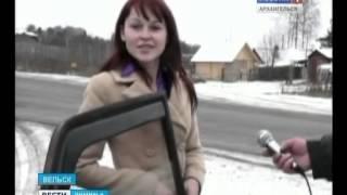На трассе Вельск-Устьяны появились смертельно опасные световые опоры
