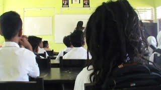 Video Viral Anak SMP Berambut Gimbal Aneh dan Gaib