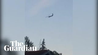 Plane stolen from Seattle airport chased by fighter jets