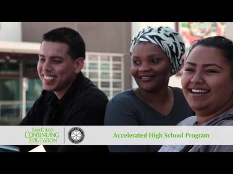 San Diego Continuing Education - Enroll Now (Accelerated High School Program)