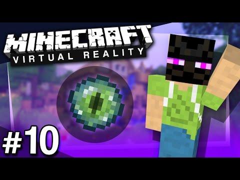Minecraft VR: The Endermen Hunt - PART 10 (HTC Vive)