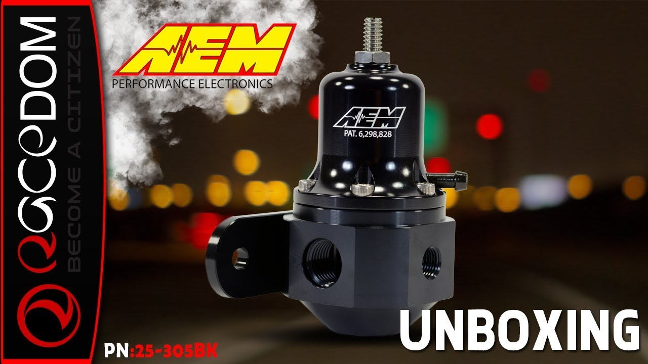 Unboxing the AEM High Cap Universal Adjustable Fuel Pressure Regulator