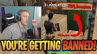 "Tfue BANS ""TSM_Daequan"" and Gets MAD for Stream Sniping! - Fortnite Best and Funny Moments"
