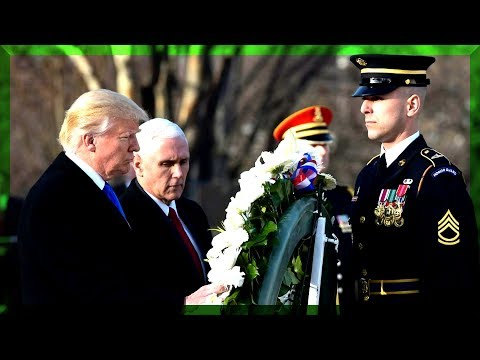 FULL: President Donald Trump Speech Wreath Laying Ceremony Arlington National Cemetery Memorial Day