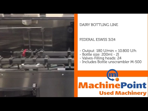 Used Dairy Machines