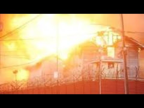 Georgetown Guyana Prison Burnt Down