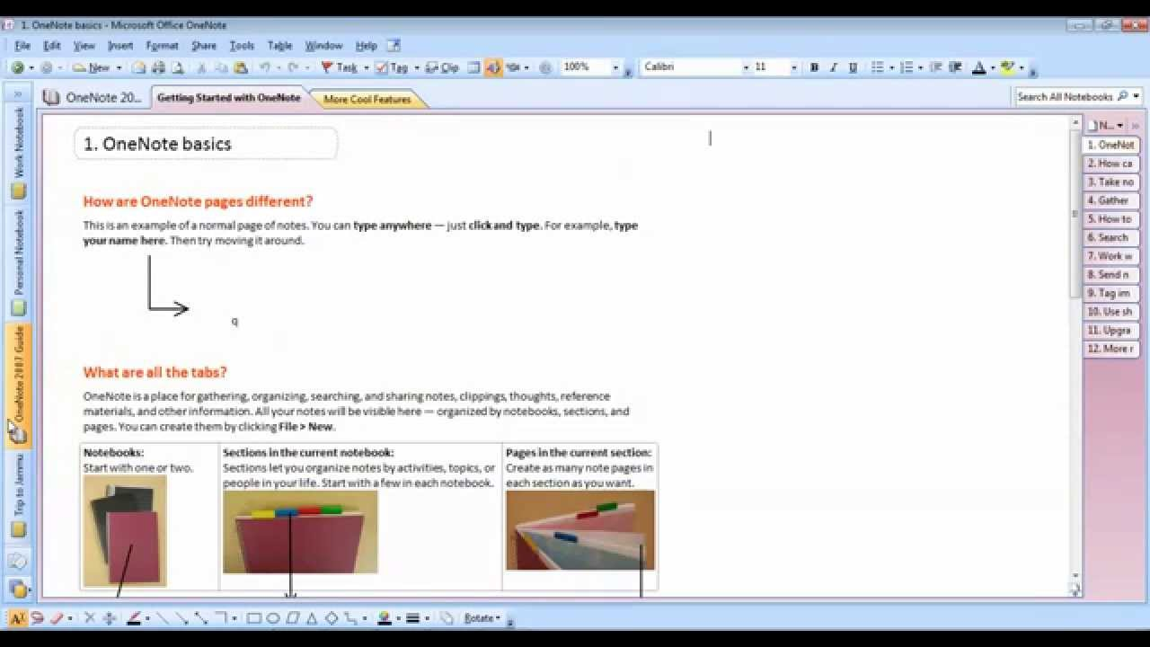 Microsoft onenote 2007 how to insert a screen clipping into.