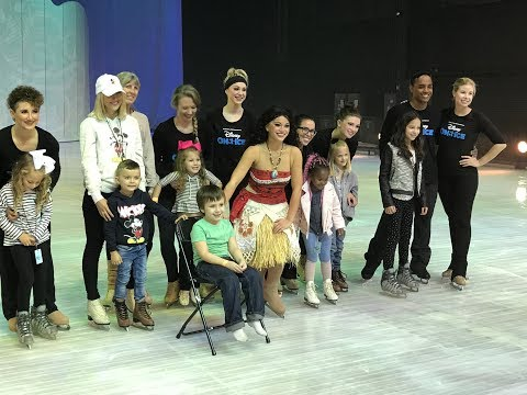 Disney On Ice Dare to Dream 2017 Behind the Scenes