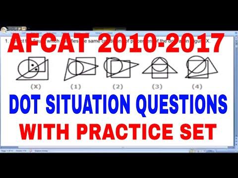 AFCAT 2018 LIVE CLASS 3 | DOT SITUATION |
