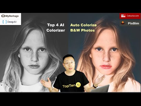 Top 4 Automatic FREE AI Colorizer to Colorize Black and White Photos Without Photoshop (2021)