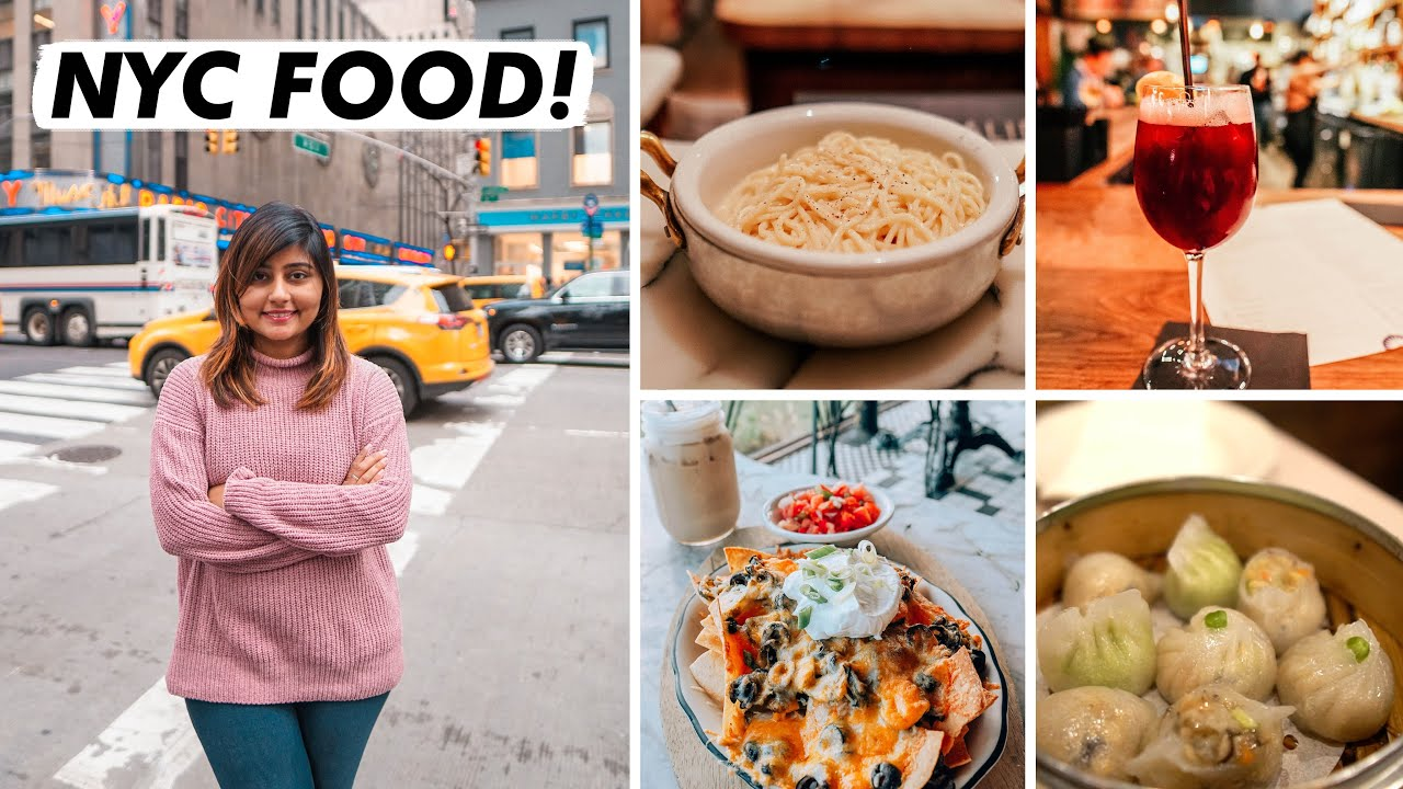 NEW YORK CITY FOOD VLOG | What I Ate On My Trip To New York! 🏙🍕