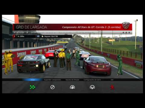 Gran Turismo 6 : Campeonato GT All-Stars Gameplay - PS3 GT6