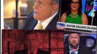 The Rudy Giuliani WrapUp Smear. Joe Rogan & Alex Jones talk Borat & Hunter Biden Laptop.