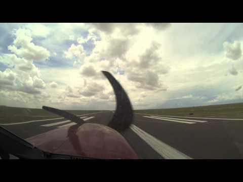 Landing Albuquerque Double Eagle KAEG