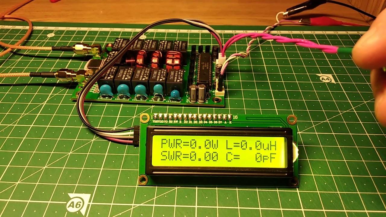 Автоматический антенный тюнер ATU-100 mini конструкции Дэвида N7DDC (кусок провода и FT-950)