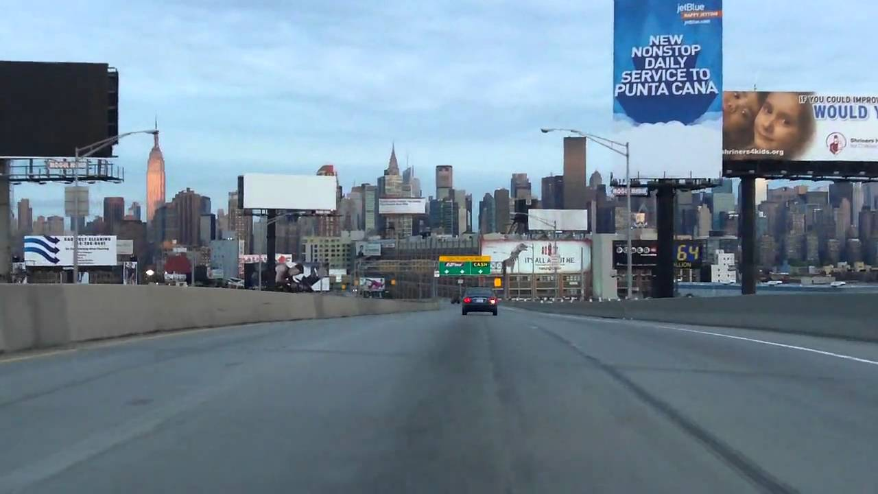 Queens Midtown Tunnel Westbound Youtube