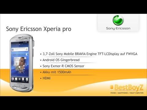 Review: Sony Ericsson Xperia pro | BestBoyZ
