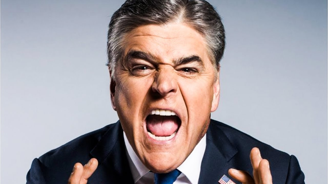 Image result for sean hannity angry