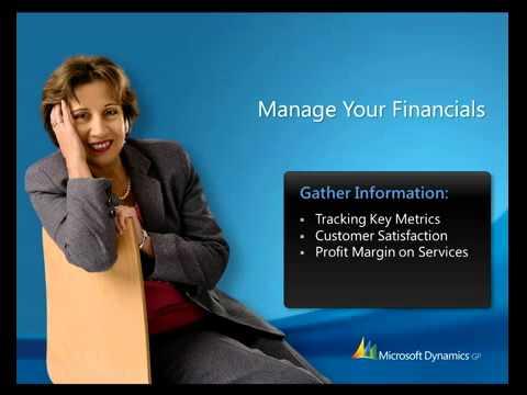 Microsoft Dynamics GP   Manage Your Financials Demo