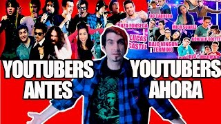 YOUTUBERS ANTES VS YOUTUBERS AHORA -  Magnus Mefisto