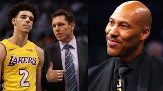 Lonzo Ball's Dad LaVar Trying to STEAL Luke Walton's Coaching Job on the Lakers!?