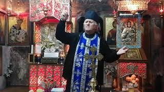 Preot Vasile Spătaru Predica de pe 30 octombrie 2020 de la Sf. Maslu