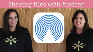Sharing with AirDrop
