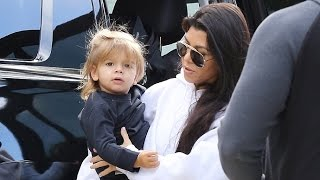 Kourtney Kardashian Makes A Private Family Visit With Her Youngest Reign