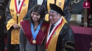 Tema: Ceremonia de graduados y titulados de posgrado 2019