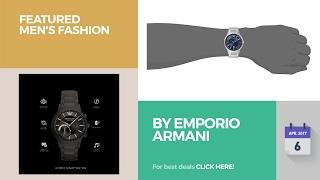 by emporio armani featured men s fashion