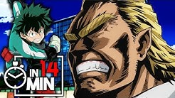 MY HERO ACADEMIA 'STAFFEL 01' IN 14 MINUTEN