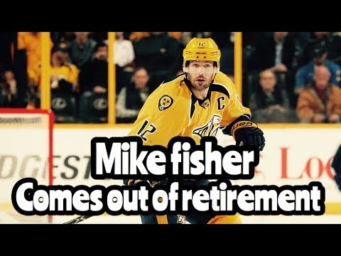 NHL Mike Fisher RETURNS To The Nashville Predators