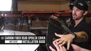 Aggressiv MK7 GTI / Golf R Carbon Fiber Rear Spoiler Cover // Installation Guide