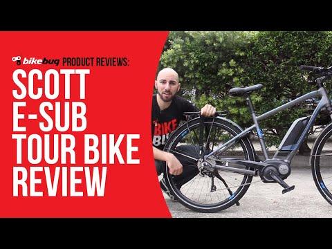 ea7522d569d Staff Pick: The Scott E-Sub Tour Bike - YouTube