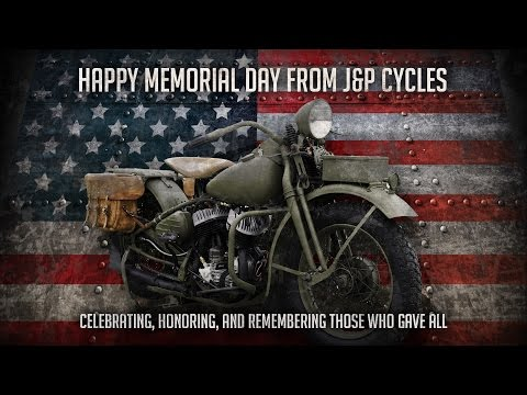 Memorial Day Motorcycle Tribute