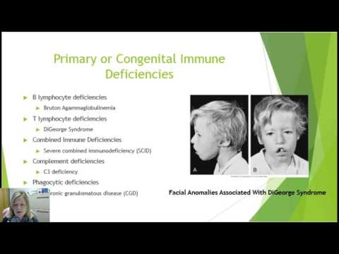 Primary and Secondary Immunodeficiencies