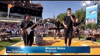 Wincent Weiss - MUSIK SEIN im ZDF - Die große Drei-Länder-Show - 02. Oct. 2016