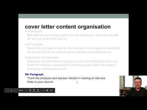 BYC   seminar   writing job applications   part 1   cover letter content   format and layout default