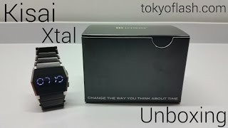 Kisai Xtal - Futuristic Led Watch - Tokyoflash.com - Unboxing!