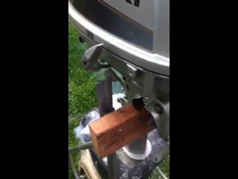 Suzuki outboard DT6 demo