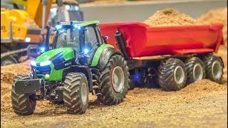 Incredible modified RC Tractors! Farming in small scale!