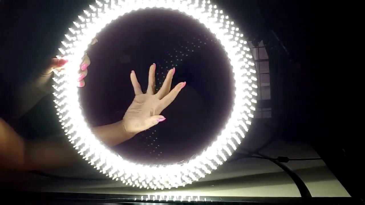 Diy Led Ring Light Youtube