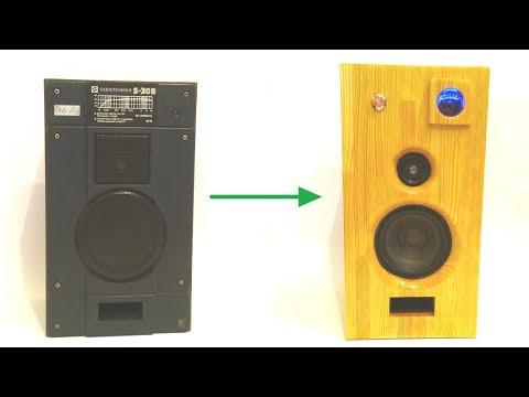 #woodspeaker #woodbluetoothspeaker #diyspeker From Old to New DIY Wood Bluetooth Speaker